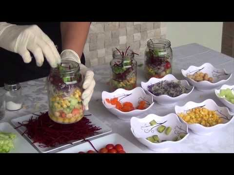 Vegetais para a semana toda + salada de pote - YouTube