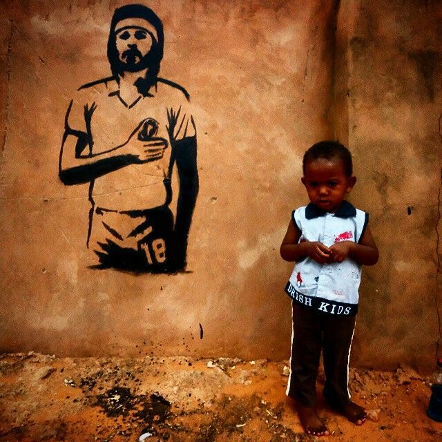 Socrates Brazil Street Art
