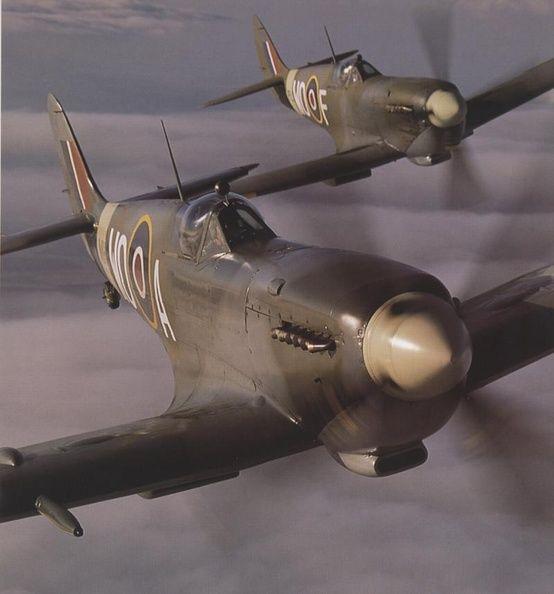 Submarine Spitfires.
