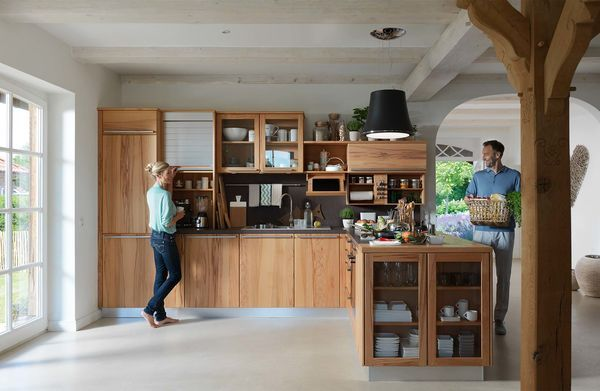 Fabulous Country kitchen rondo in solid wood from TEAM Kitchens Pinterest Team Country kitchens and Wood