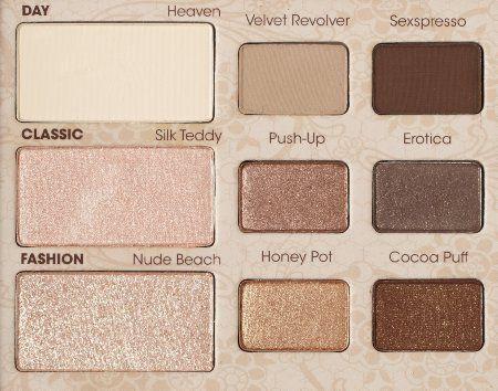 #Makeup  Trendy Makeup Ideas -  Smokey Eyes : Too Faced Cosmetics, Natural Eye, Neutral Eye Shadow Collection