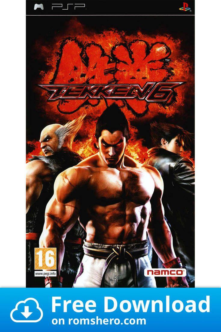Download Tekken 6 Playstation Portable Psp Isos Rom In 2020 Playstation Portable Playstation Psp