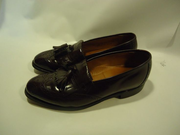 VINTAGE Johnston & Murphy Black Tuxedo Shoes ITALIAN MADE! Leather Loafers  9.5 M #JohnstonMurphy #LoafersSlipOns | Pinterest | Tuxedo shoes, Johnston  murphy ...