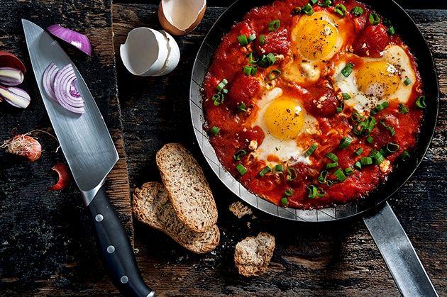 Αυγά με τη ντομάτα για βουτιές