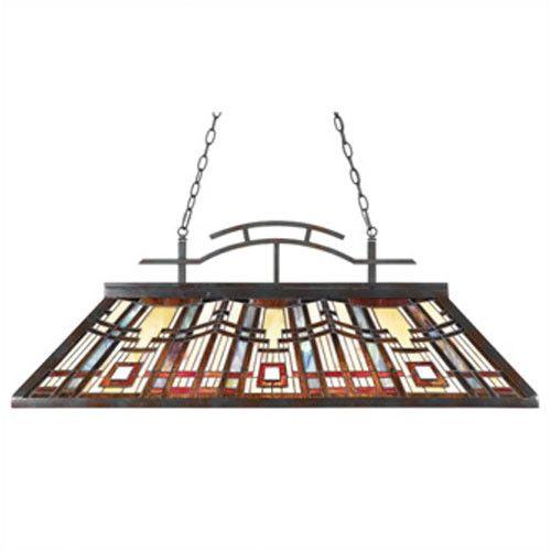 Quoizel Classic Craftsman pool table light