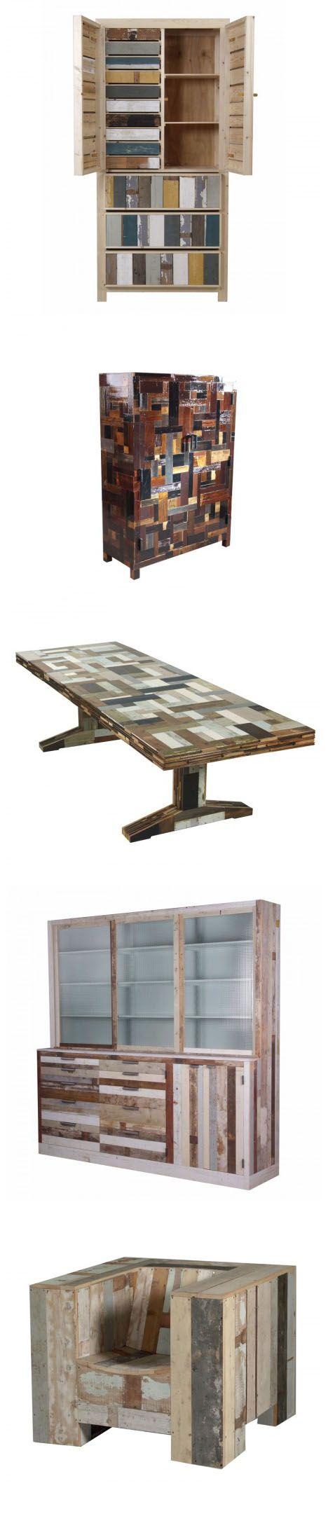 Piet Hein Eek's Raw Material for Furniture: Scrap Wood