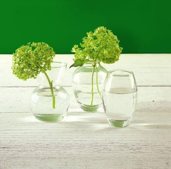 Menage A Trois Glass Bud Vases