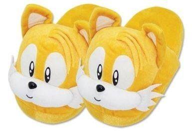 TAILS YELLOW SLIPPERS SONIC THE HEDGEHOG PLUSH