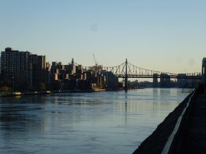 Carl Shurtz Park, vista su Queensboro Bridge