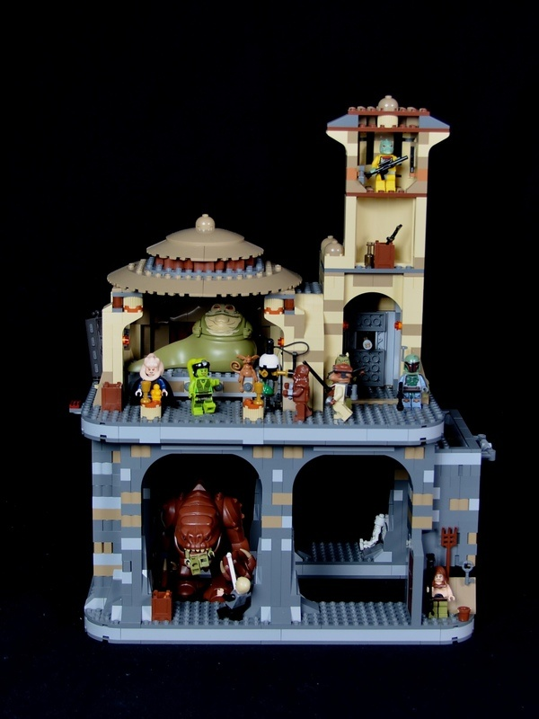 A great redesign of the Rancor dungeon.  It uses two kits to create a much better and spacious Rancor/Jabba Palace experience.  http://www.eurobricks.com/forum/index.php?showtopic=78309