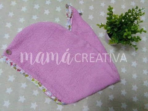 Cómo hacer un turbante para el pelo ¡¡¡con una toalla!!! | Manualidades