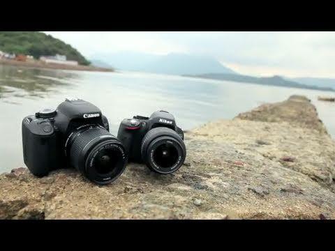 Canon EOS 600D (T3i) vs Nikon D5100 Review