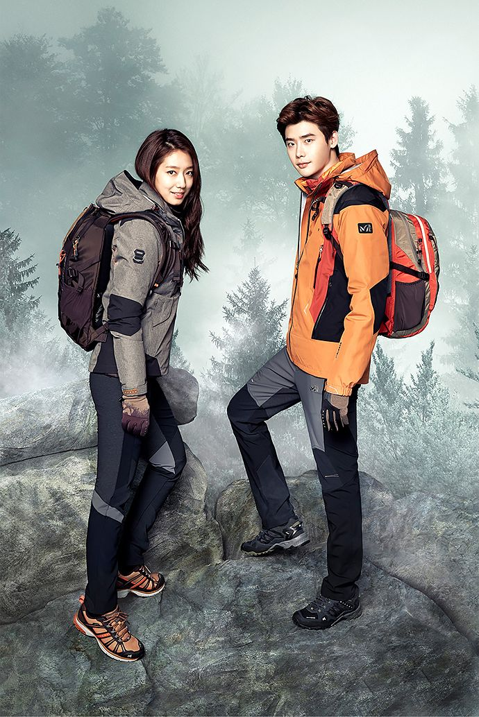 Park Shin Hye and Lee Jong Suk | MILLET F/W 2015