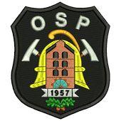 naramiennik OSP, herb, naszywka