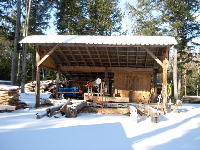 Sawmill Shed And Other Buildings Pictures Portable