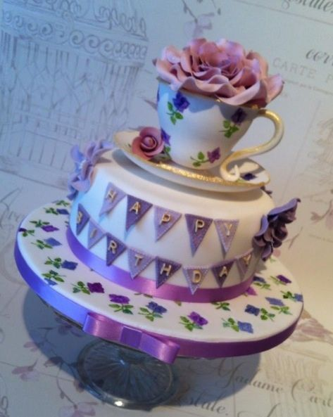 Vintage sugar cup and saucer