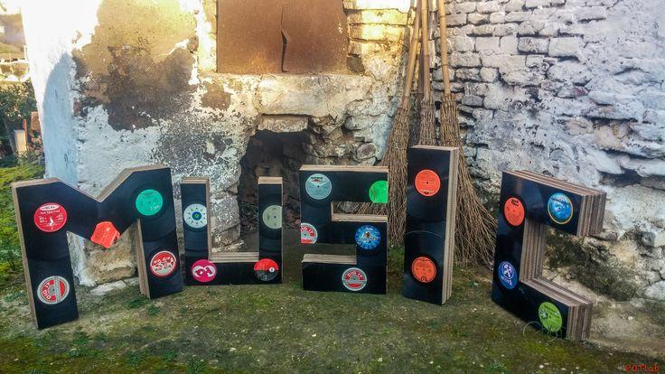 #lettere in #vinile #vinilechepassione #33giri #vinyl #countryside #land #home