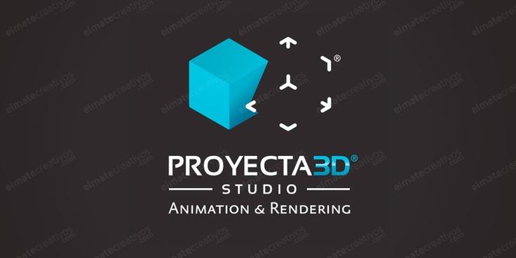 Dise o de logotipo para estudio de dise o 3d nuestro for Empresas de arquitectura