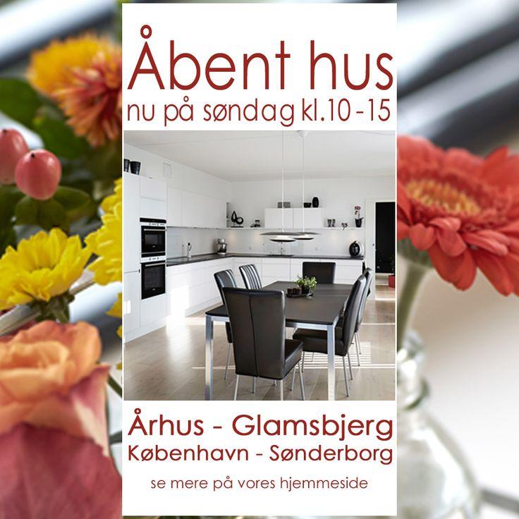 Åbent hus søndag den 19. april 2015 kl. 10-15 Velkommen til nuancer og stil i din køkkenindretning. Besøg os i byerne Aarhus - Glambjerg - København og Sønderborg
