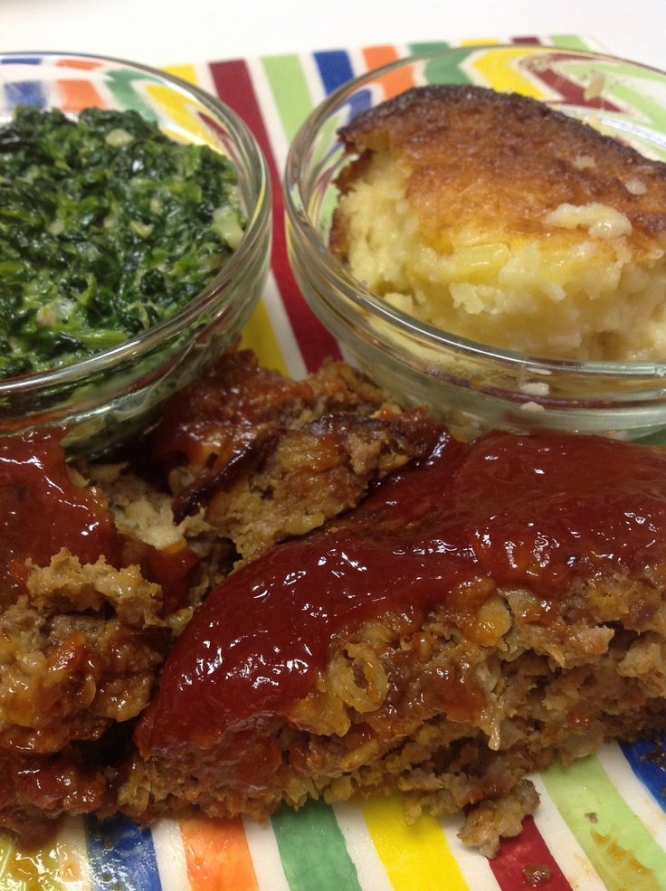 recipe: venison meatloaf with oatmeal [25]