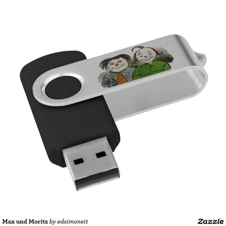 Max und Moritz Swivel USB 2.0 Flash Drive