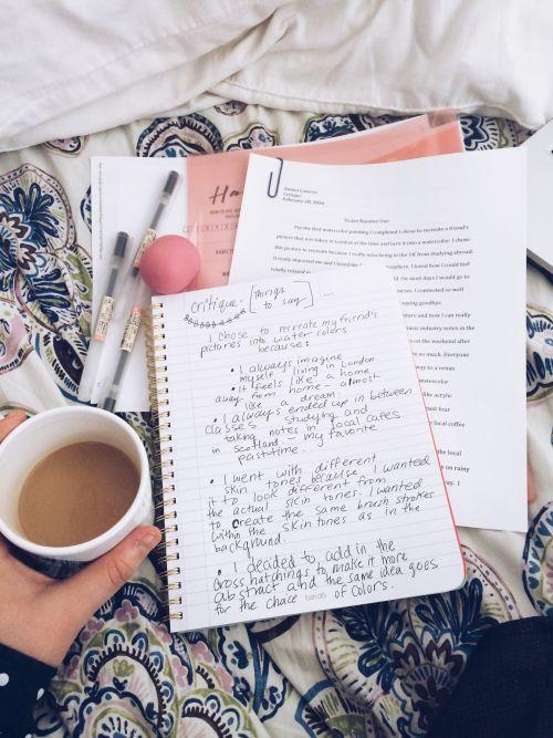 becausewckd: Preparing for my critique... - Steph Stop Procrastinating