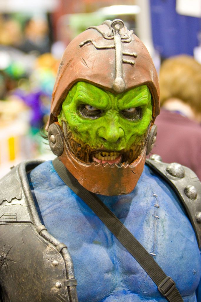 Trapjaw from He-Man and the Masters of the Universe - This cosplay is awesome. I have always wished that Trapjaw would have been in the live action movie, and now I know how bad ass he could have looked.