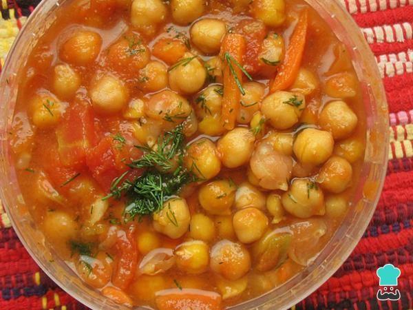 Deliciosos Garbanzos Guisados Receta Fácil Receta Garbanzos Con Verduras Cocido De Garbanzos Garbanzos