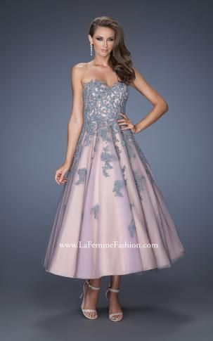TEA LENGTH FORMAL DRESSES - Rufana Fana
