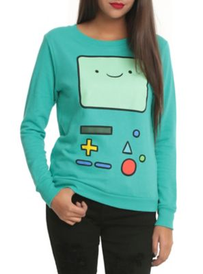 Adventure Time I Am BMO Girls Pullover Top   http://www.hottopic.com/hottopic/Girls/Tops/Adventure+Time+I+Am+BMO+Girls+Pullover+Top-10281952.jsp