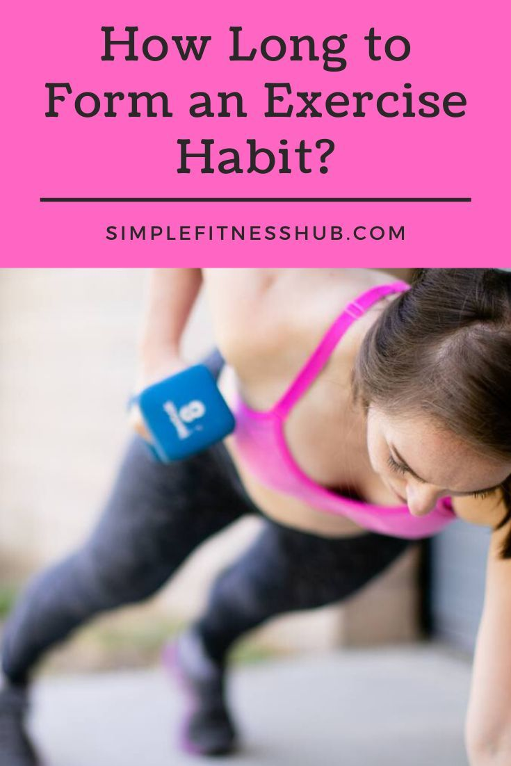 The Process To Forming A Long Term Exercise Habit Simplefitnesshub Exercise Fun Workouts Habits