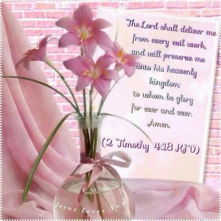 2 Timothy 4:18 KJV