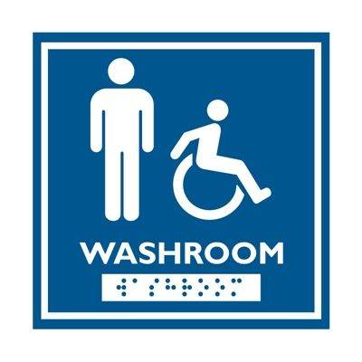 Frost Washroom Signage