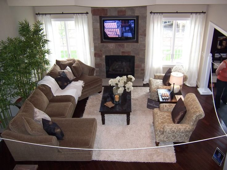 2 Story Living Room Decorating Ideas