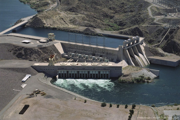 Image Detail for - Laughlin, Nevada, Davis Dam on the Colorado River.