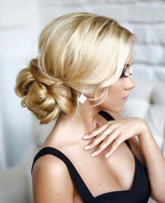 Wedding hair up