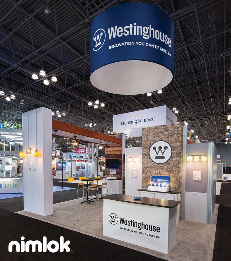 Island Exhibition Stand : Island trade show exhibit for westinghouse see