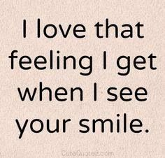 Your smile makes me smile. Even just in pictures. I feel like you're smiling right at me.