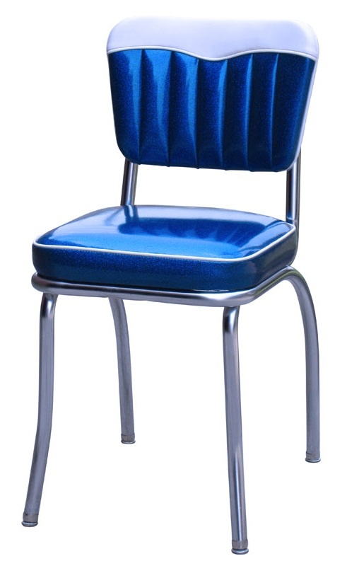 Diner chair - 4299 | Channeled Back Diner Chair | Retro Diner Chair