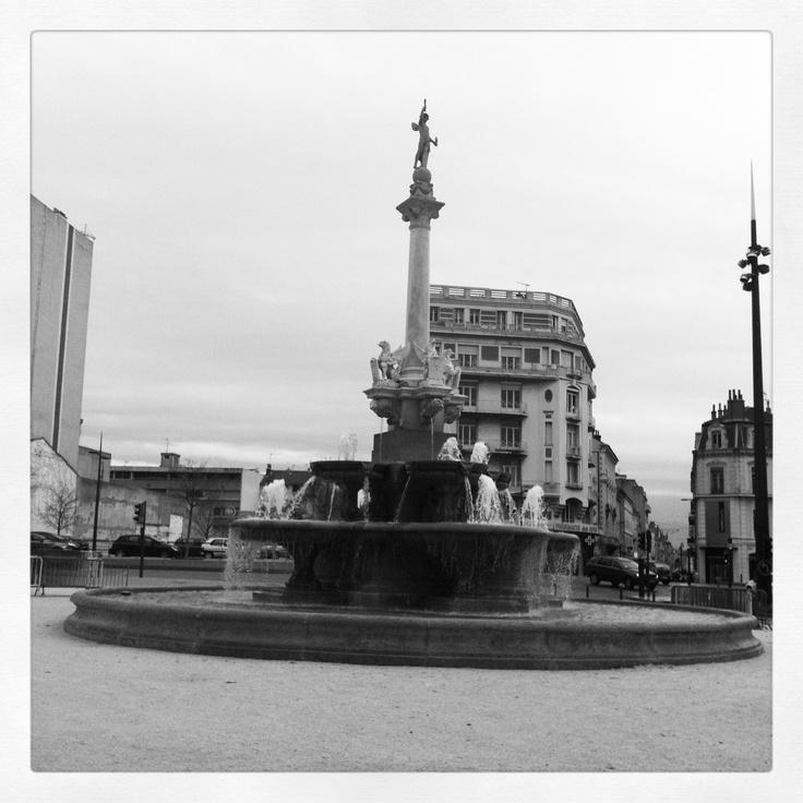 Le fontaine des Grands boulevards Valence #France