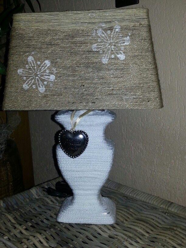 Gepimpte lamp met touw