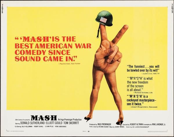 Vintage original MASH movie poster | Thousands of extraordinary vintage original  film posters. Online and in… in 2020 | Movie posters vintage, Vintage movies,  Movie posters