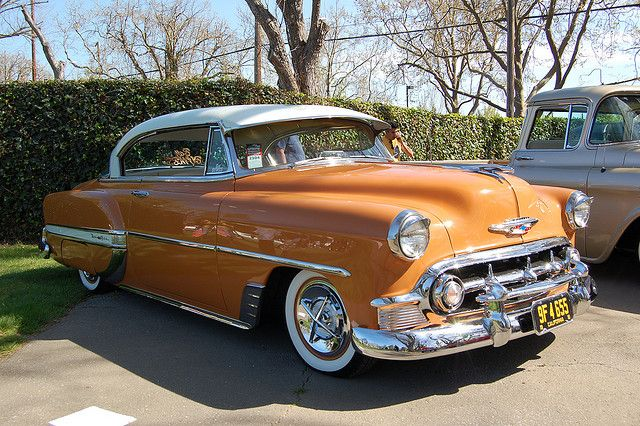 1953 Chevrolet Bel Air. Did you know the frame under this model is the same used on the '53 to '57 Corvette?
