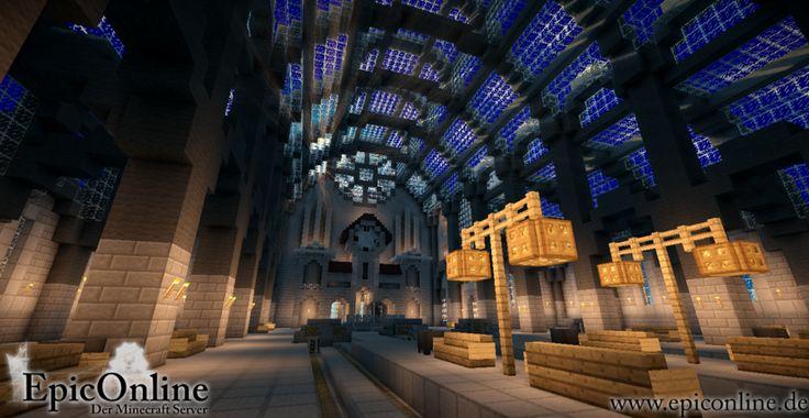 Train station interior by EpicOnline on deviantART