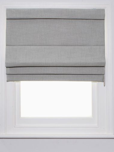 Thinking of a light grey roman blind for the lounge room