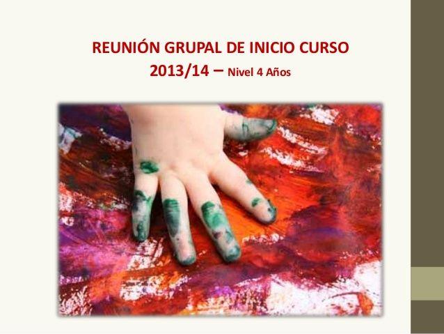 Reunión Principio de Curso con Familia Educación Infantil by Patricia Huertas Mesa via slideshare