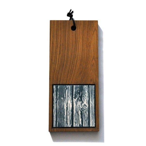 Oak board, Wannabe Wood. From ARTTILES. Handmade in Denmark.