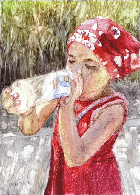 334 best watercolor portraits i images on pinterest for Cool watercolor tricks