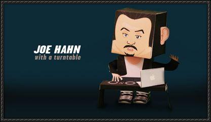 Joe Hahn Paper Toy