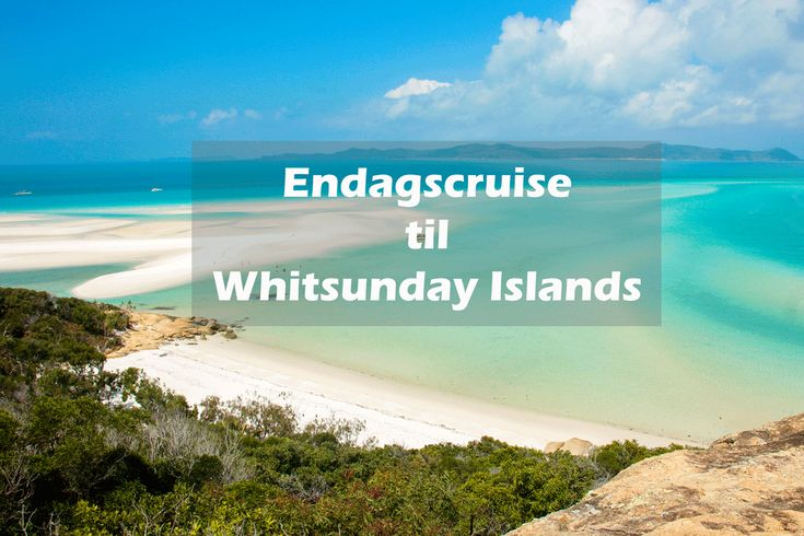 Ønsker du at opleve et cruise i Whitsundays? Men er har du ikke meget tid. Så er et endagscruise lige noget for dig! Læs om min tur og mine tips her
